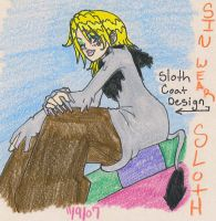 Sloth coat contest by Caryin