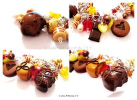 Chocolate Bracelet in details by ChocoAng3l