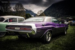 plum crazy challenger by AmericanMuscle
