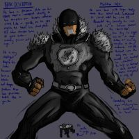 Ryak-Lo Mutant Character Design Contest Entry 2 by Rivalhopeso