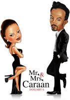 Mr and Mrs Caraan by ochie4