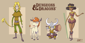 Dungeons and Dragons - Fanart by Kaboio