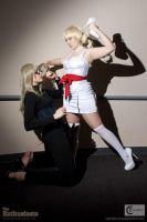 Catherine- Death by Shoe by SkylitEyed