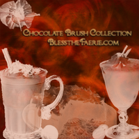 Chocolate Brush Collection by Tatianasaphira