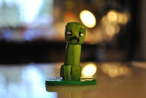 Minecraft Minis - Creeper by SkyeDragons