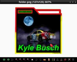 NASCAR-KYLE BUSCH-Right-Turn.18 by dewman12