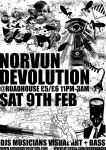 POSTER NORVUN DEVOLUTION by G4jima