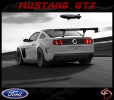 Ford Mustang GTX by TeofiloDesign