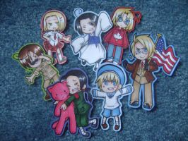 APH - Special stickers by ChocolateLlama