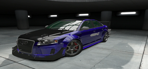 10 Second Audi RS 4 Front by CarlostheBat36