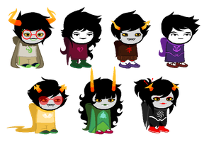 Homestuck Adopts CLOSED by saria-adopts-64
