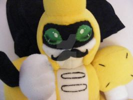 Mustachio Metabee by LittleMissSkuld