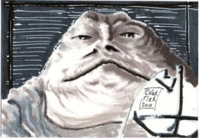 Jabba the Hutt by idirt