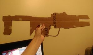 Halo Reach DMR by BaconTree92