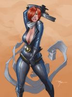 Commish: Jessie by johnnyrocwell