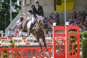 3DE Show Jumping Phase Stock 151 by LuDa-Stock