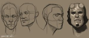 Male Practice - The Face by Lonewolf898