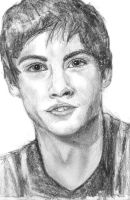 Logan Lerman by bluerockblue