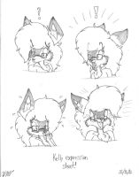 Kelly Expressions Sheet :3 by The-Victor-Catbox