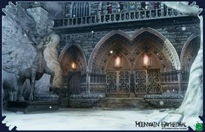 Mountain Cathedral Render3 by DTHerculean