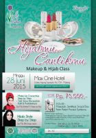 Poster Hijab and Beauty by ignra
