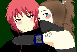 Stormy and Sasori by officermargss