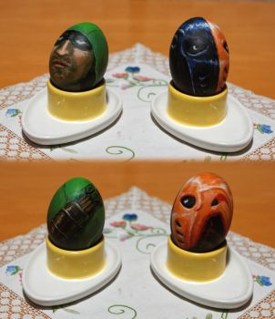 Arrowverse Easter Eggs - Green Arrow + Deathstroke by RedBlupi