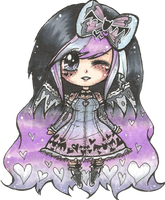 CLOSED Points Adopt Auction (Pastel Goth) by x-CherryHime-x