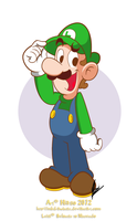Luigi by MKDrawings
