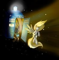MLP Fan Art: Time and Space by Mephikal