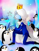Half iceking Simon Petrikov by dierabbit