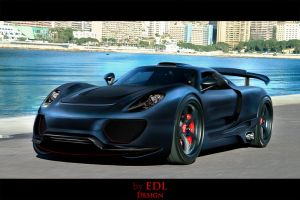 Porsche 918 Coupe Gemballa by EDLdesign