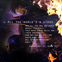 Code Geass: Lelouch wit. Words by closeyoureyes0329