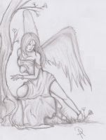 Frightened Angel by ADDaughtry