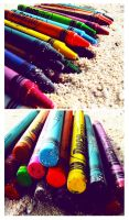 ::Colors on the beach:: by Miss-Daneno