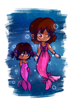 Lil Sweet Sirens by Jrynkows