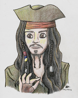 Cptn Jack Sparrow by RynnLight