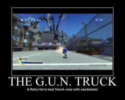 G.U.N. Truck Motivational by SonicXtheXYoshi