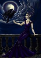 Raven Queen by Ronron84