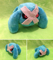 Metagross Palm Plush by GlacideaDay