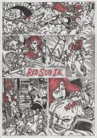 Red Sonja Conquers New York! by conradknightsocks