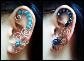Commission Ear Cuffs by sodacrush