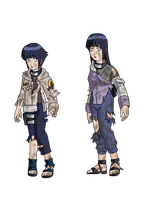 Tattered clothing Hinata by mattwilson83