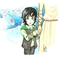 Loki and the snow by nay-only