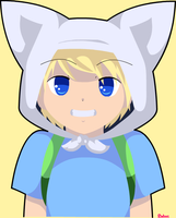 Finn the human by SuperTuffPinkPuff