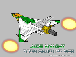 Jade Knight Toon Shading Ver by Tarrow100