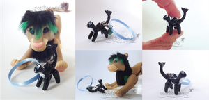 Poseable Micro Charm: Orka by vonBorowsky