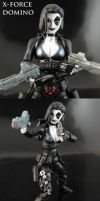 X-Force Domino Marvel legends by Jin-Saotome