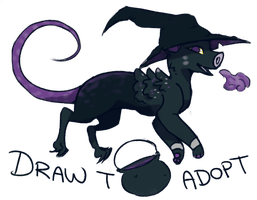 Wish Dragon Draw To Adopt!! (WINNER CHOSEN) by Jemanite