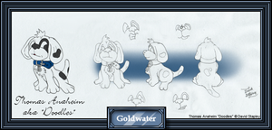 Doodles the Dalmatian Ref. by goldwater